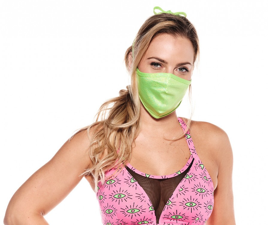 Zumba Face Cover - Green
