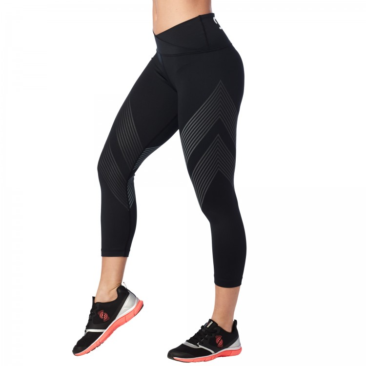 Strong By Zumba High Waisted Crop Leggings