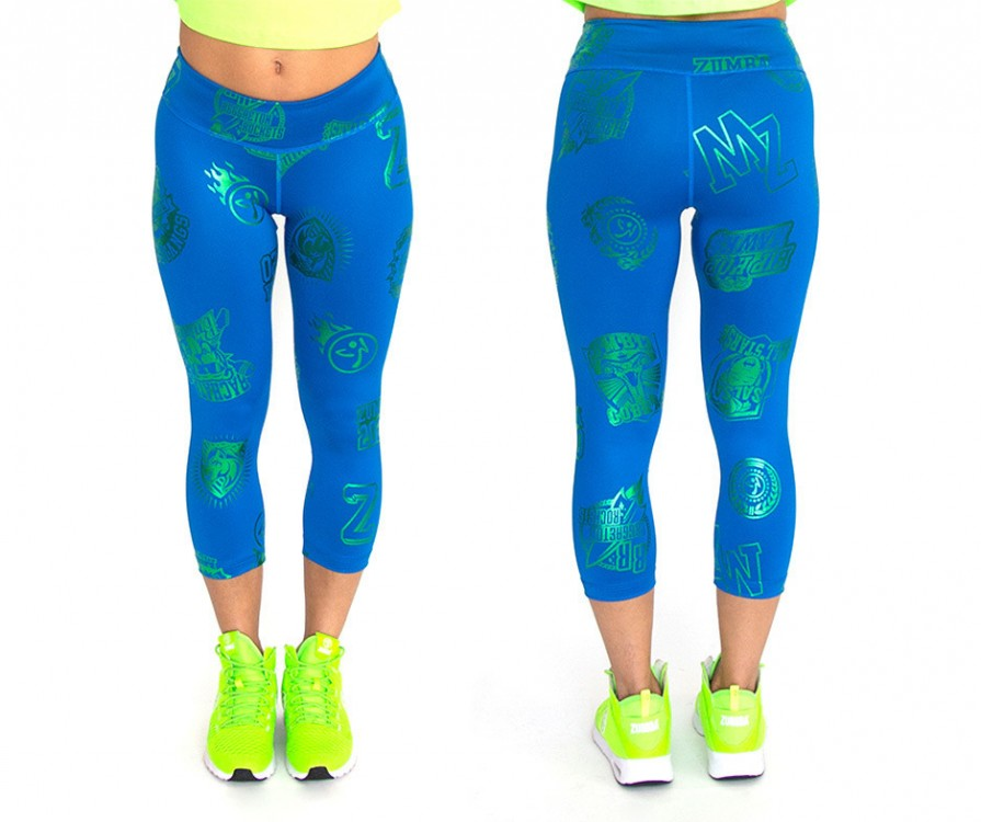 Zumba All Stars Capri Leggings