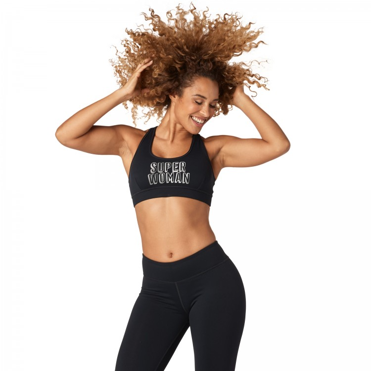 Zumba Shine Scoop Bra