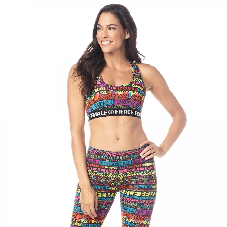 Zumba Fierce Female Scoop Bra