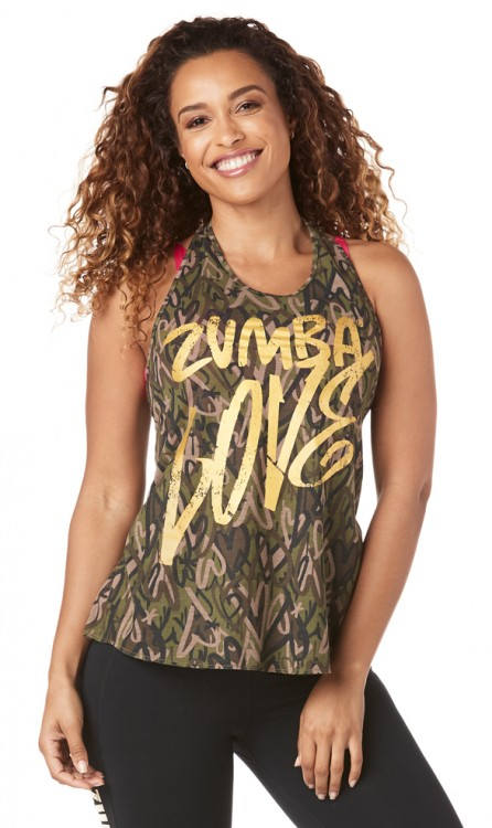 Be About Zumba Love Halter Top