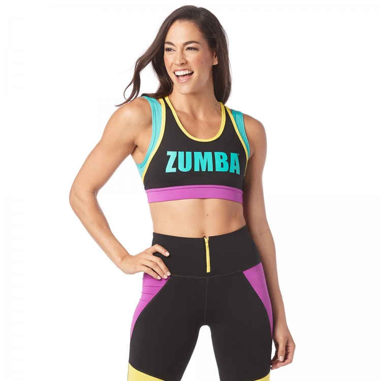 My Zumba Scoop Bra