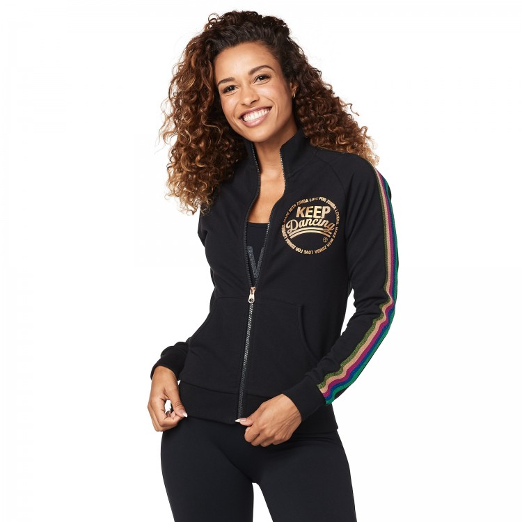 Zumba Keep Dancing Zip-Up Jacket
