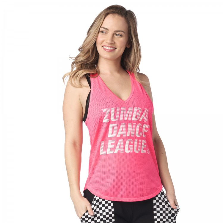Zumba Dance League Mesh Tank