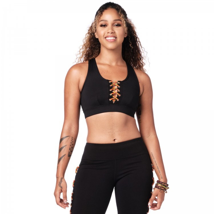 Zumba Dance Tribe Scoop Bra