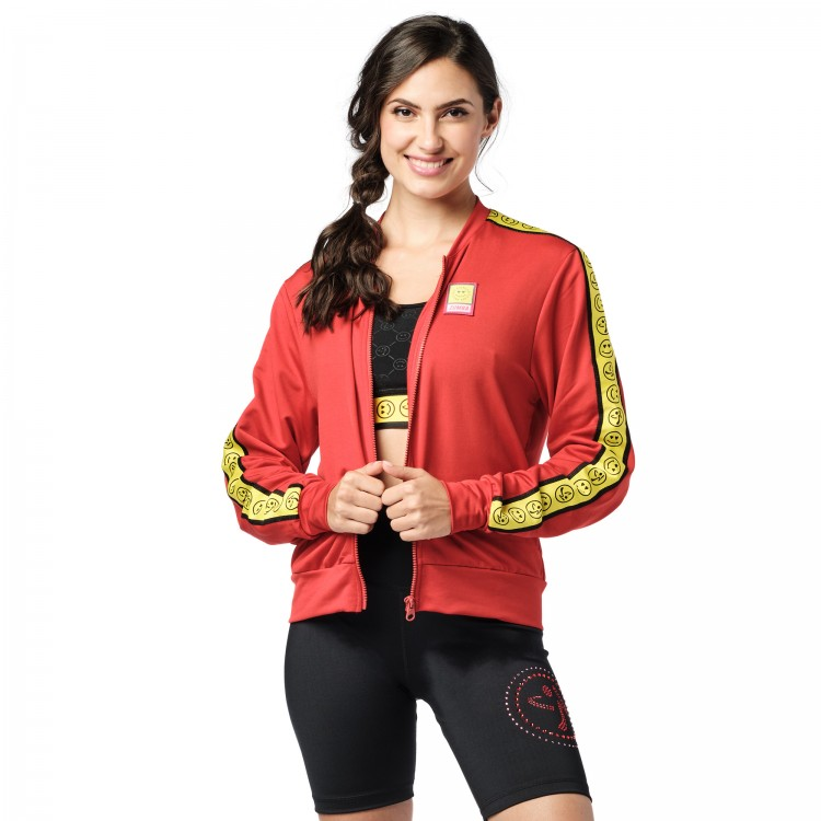 Zumba Spread Love Zip-Up Jacket