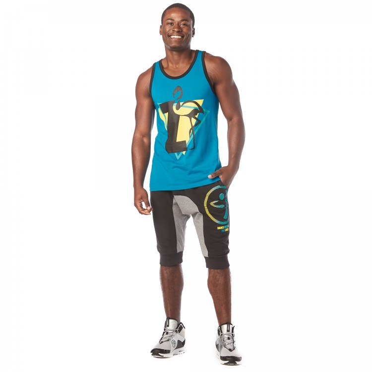 I Want My Zumba Mens Tank