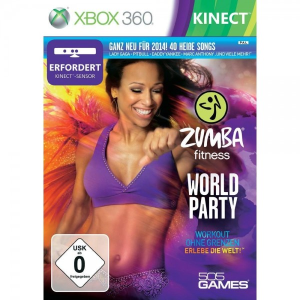 XBOX Zumba Fitness World Party, GAME