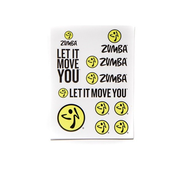 Let it Move You Stickers 100pk