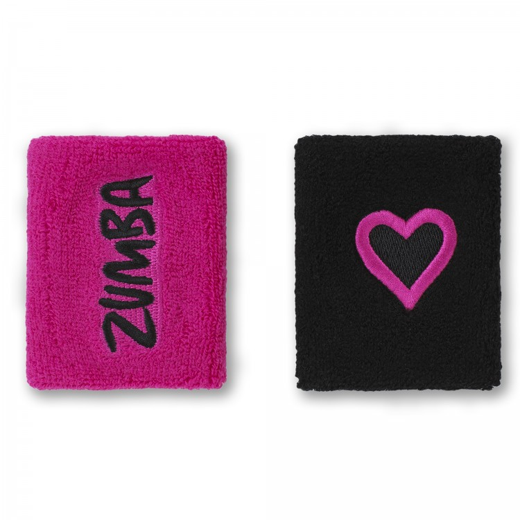 Zumba Has My Heart Wristbands 2PK
