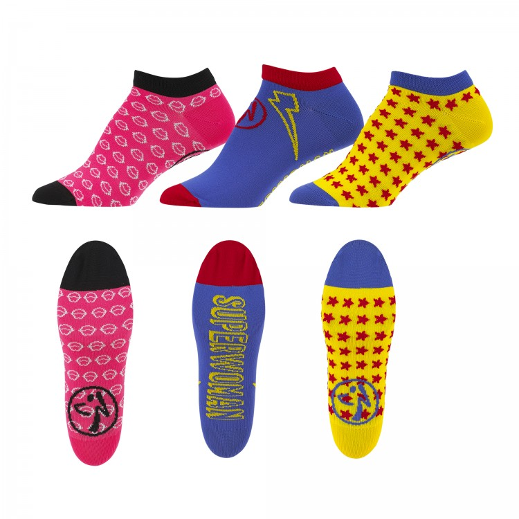 Zumba Power Socks 3PK