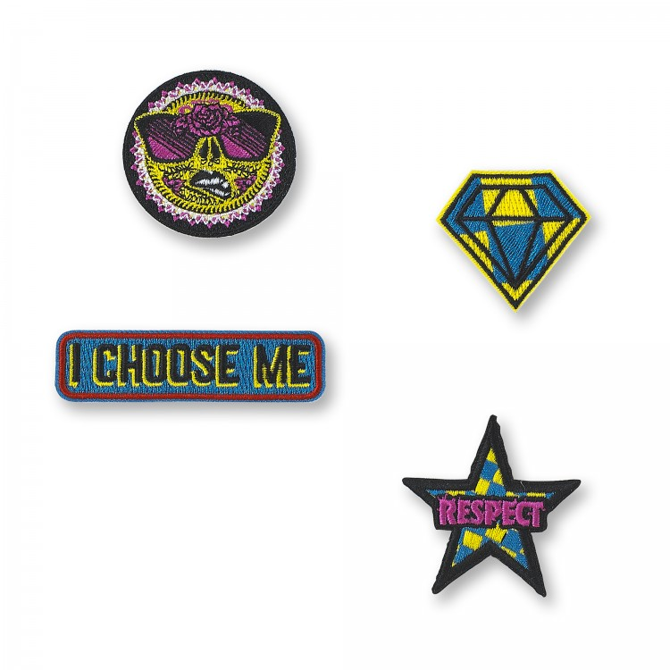 I Choose Me Patch Pins 4 PK