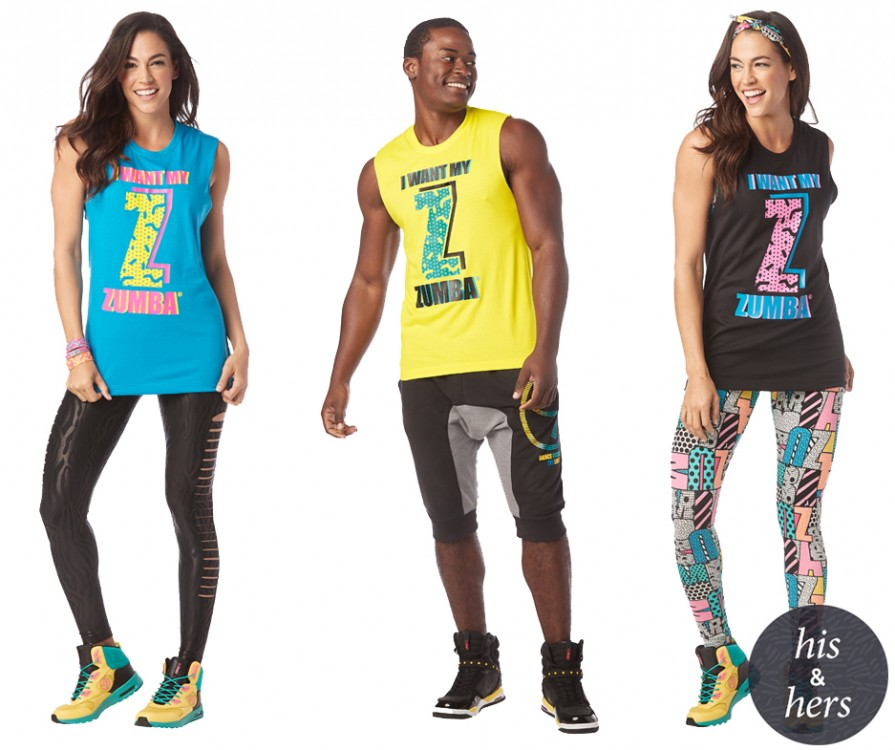 I Want My Zumba Muscle Tank 9PK