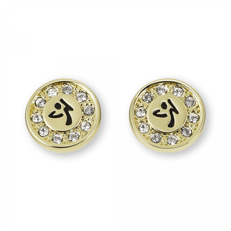 Zumbito Earrings With Swarovski Crystals