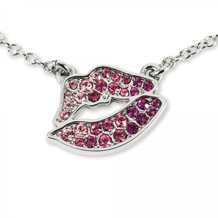 Zumba Kiss Necklace With Swarovski Crystals
