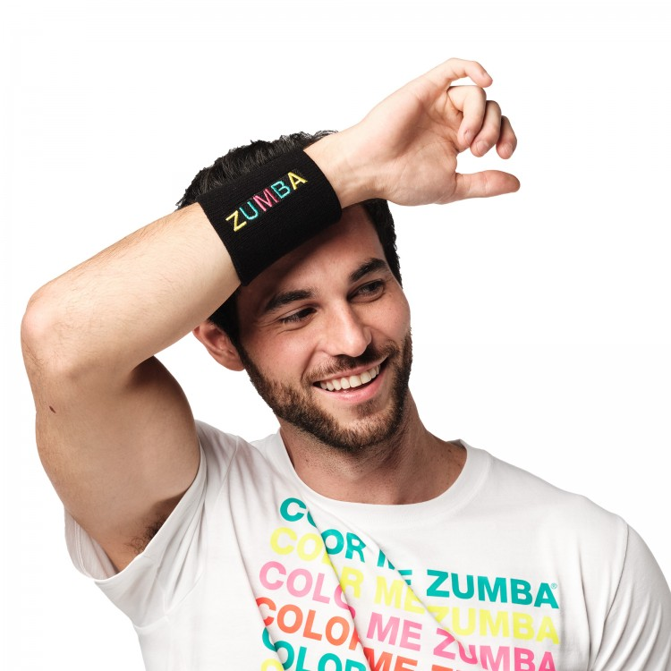 Bright Bold Zumba Wristbands 2 PK