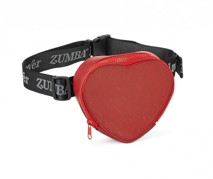 Zumba Lover Heart Waist Bag