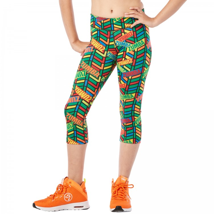 ZW Juniors All Star Capri Leggings