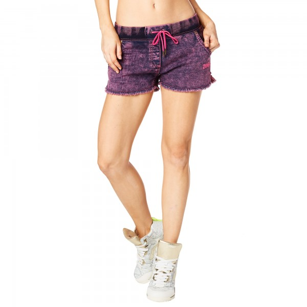 Get Wild Denim Shorts