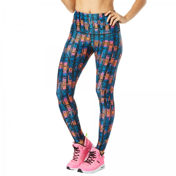 Lost In The Music High Waisted Ankle Leggings
