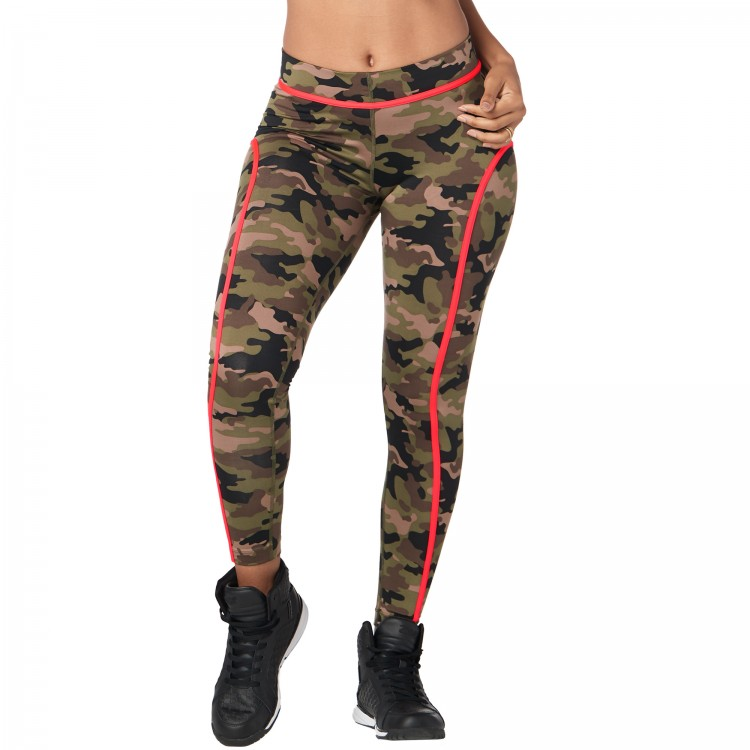 Z Army Piped Ankle Leggings