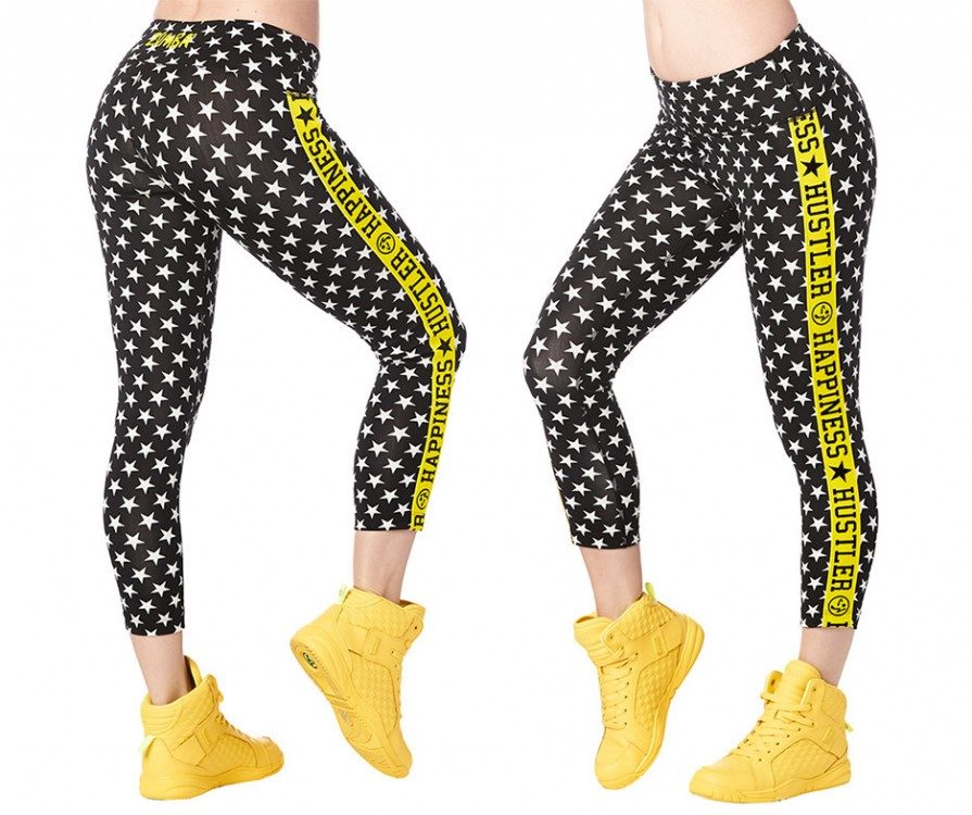 Happiness Hustler Crop Leggings