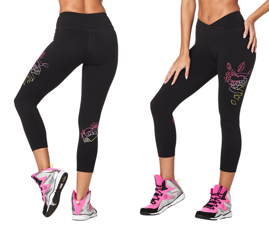 Celebrate Love Crop Leggings