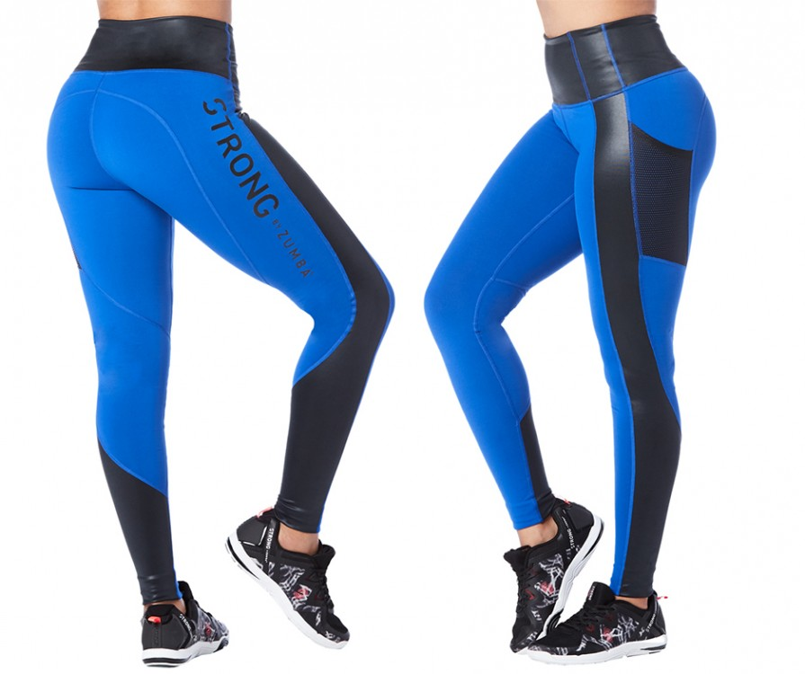 Get Amped Panel Long Leggings