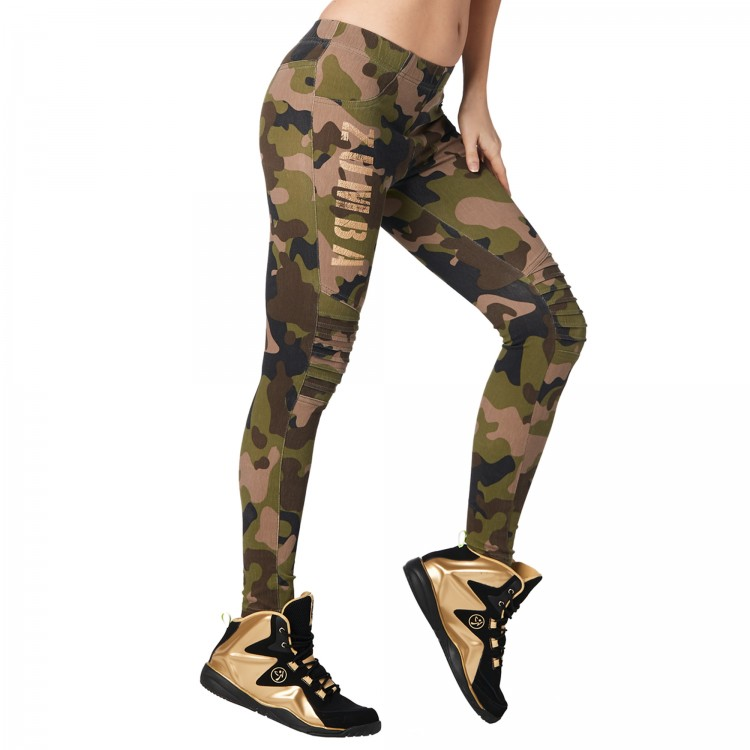 Z Army Zumba Jeggings