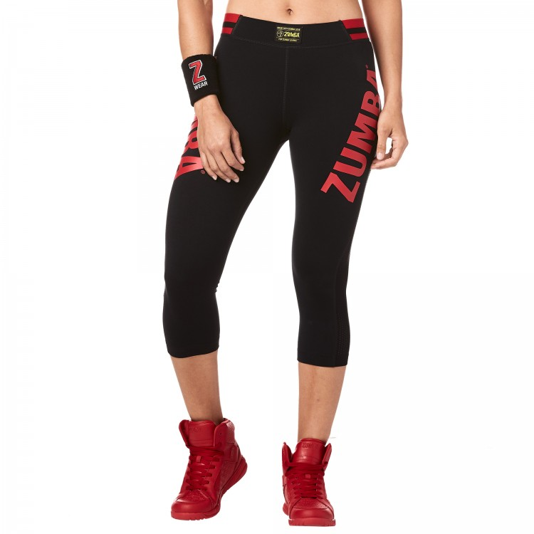 Zumba All Star High Waisted Capri Leggings
