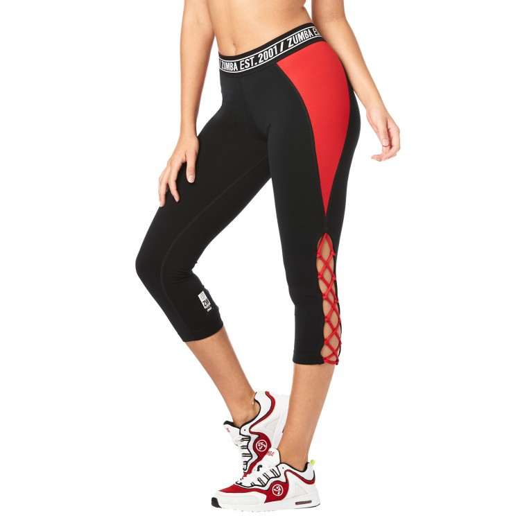 Zumba Est 2001 Crop Leggings