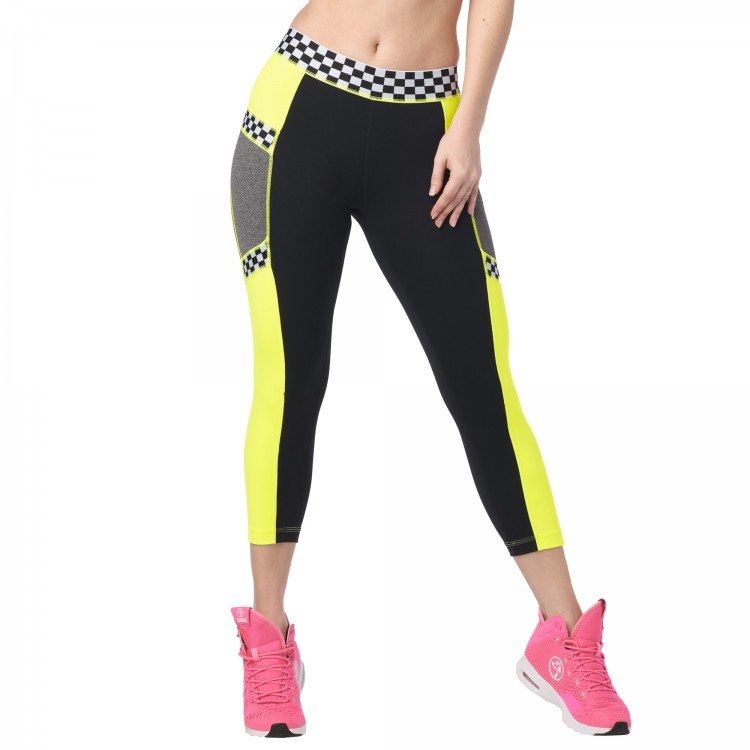 Zumba Lets Go Crop Leggings