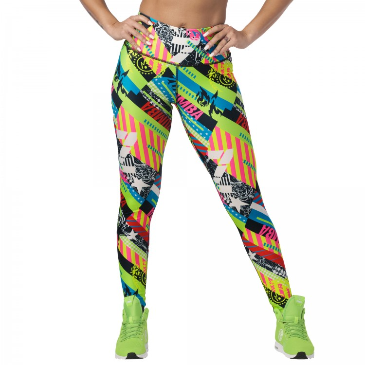 Zumba 2020 High Waisted Long Leggings