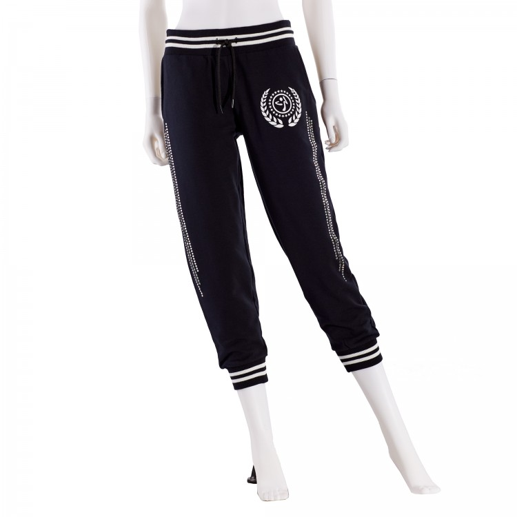Zumba Crop Sweatpants With Swarovski Crystals