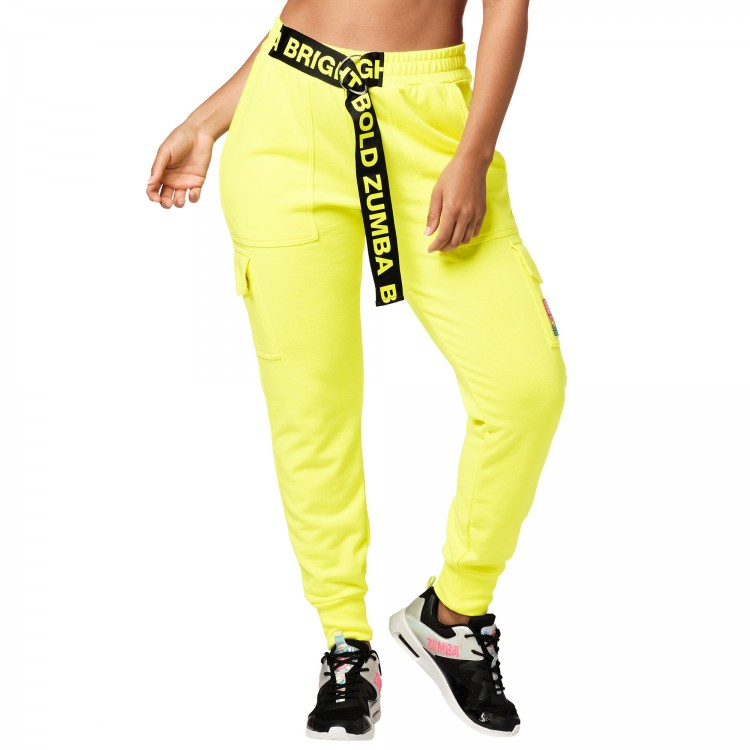 Bright Bold Zumba Cargo Sweatpants