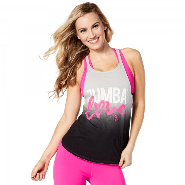 Zumba Love Open Back Tank