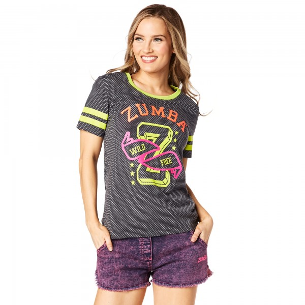 Team Zumba Burnout Tee