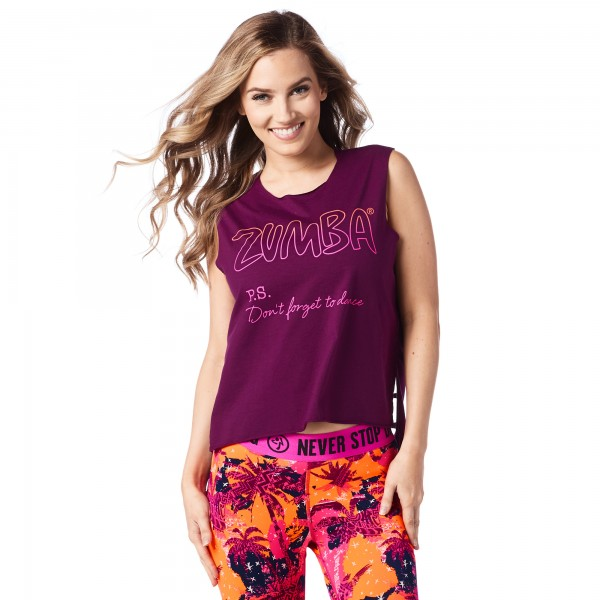 Don t Forget To Dance Cutout Tank