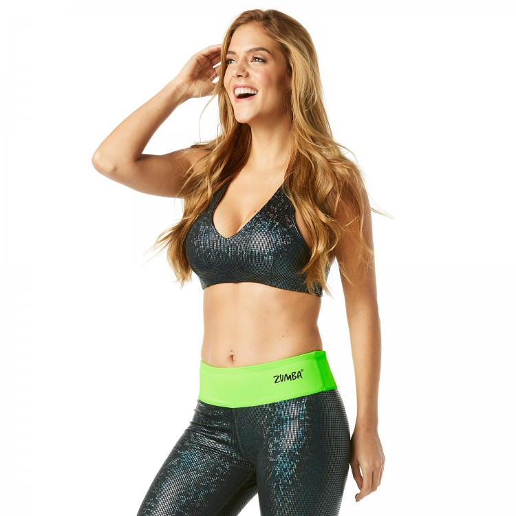 Light Up The Dancefloor Metallic Sizzle Bra
