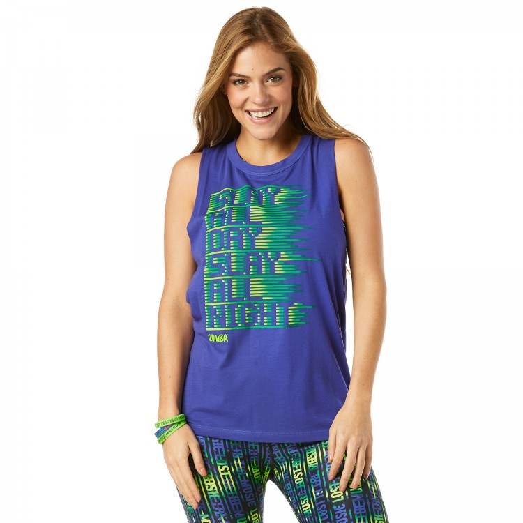 Slay All Day Loose Tank