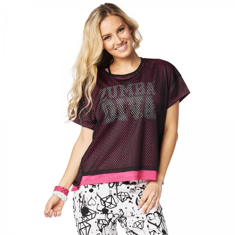 Zumba Diva Double Layer Top