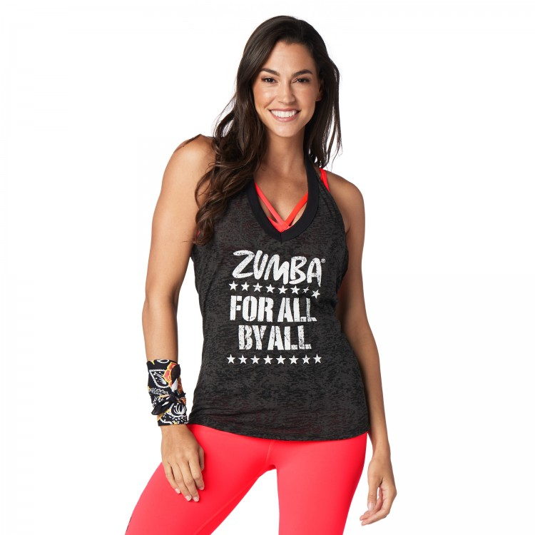 Zumba For All Halter Top