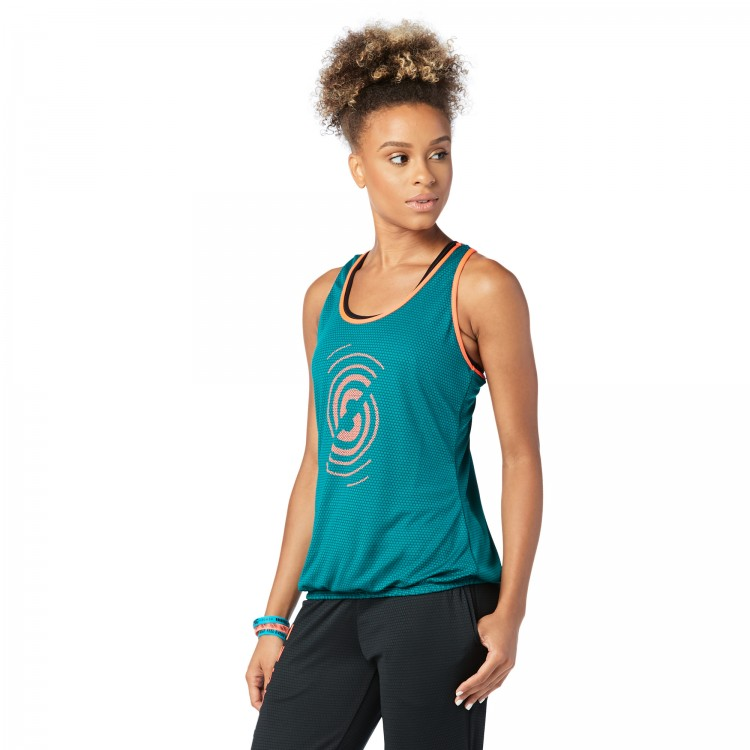 Squat Sync Sweat  Bubble Tank