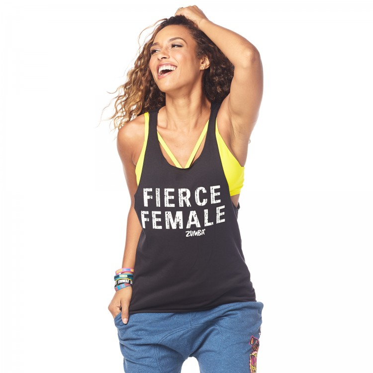 Zumba Fierce Female Loose Tank