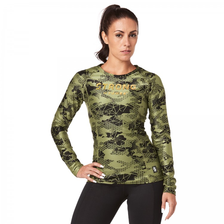 Strong By Zumba Long Sleeve Top