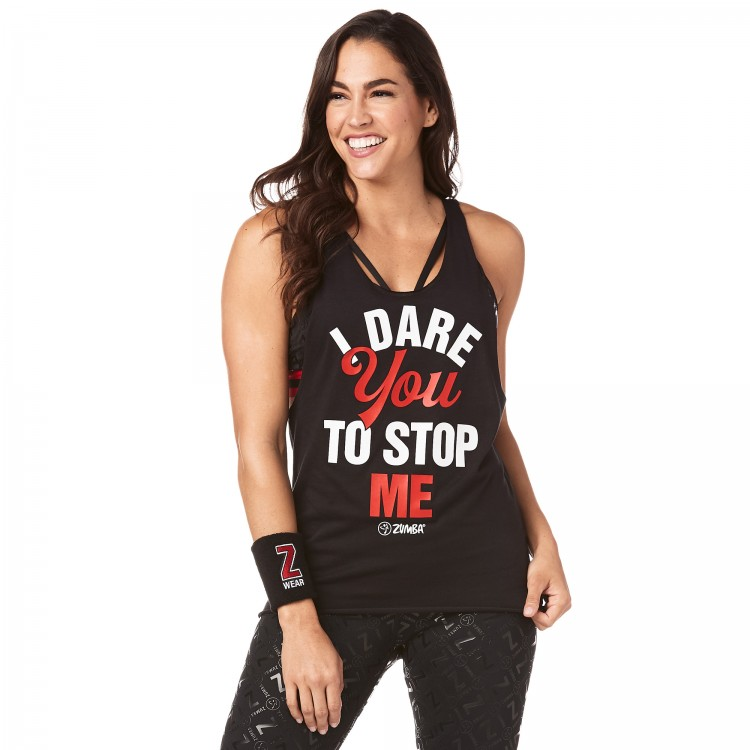 Zumba I Dare You Loose Tank