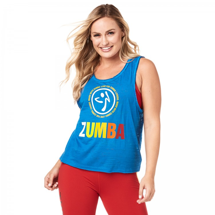 Zumba Made With Love Loose Tank
