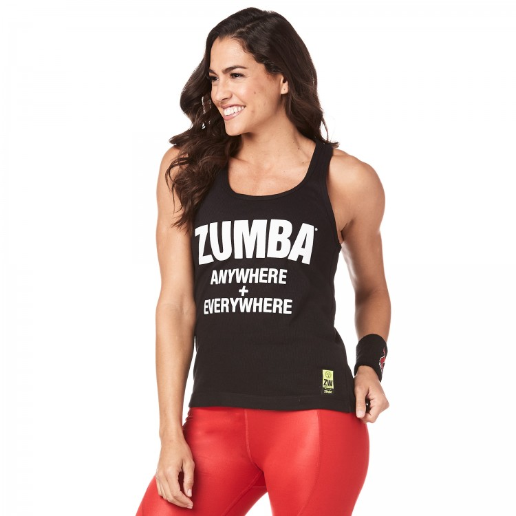 Zumba Everywhere Ribbed Tank