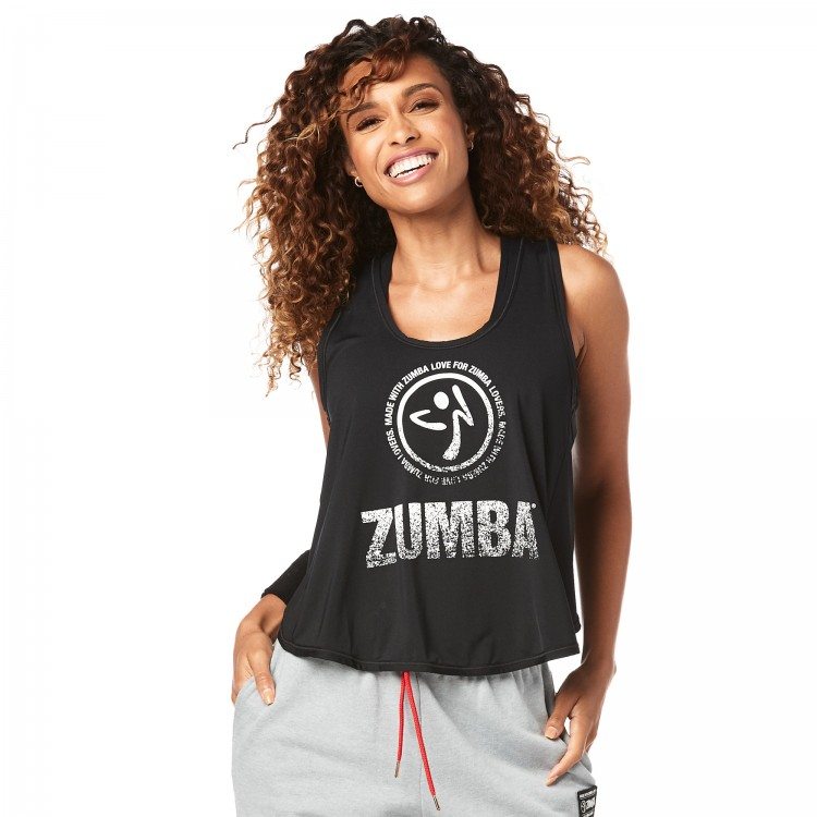 For Zumba Lovers Cross Back Tank